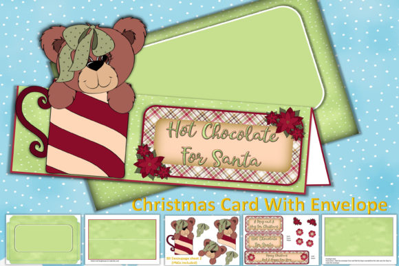 Print on Demand: Christmas Card Making Kit with Envelope Graphic Crafts By The Paper Princess