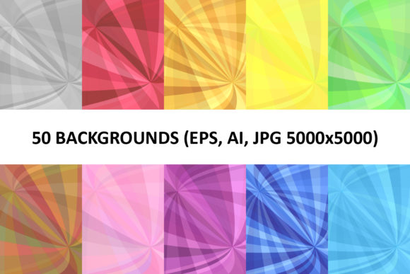 50 Curved Backgrounds Graphic Backgrounds By davidzydd - Image 1