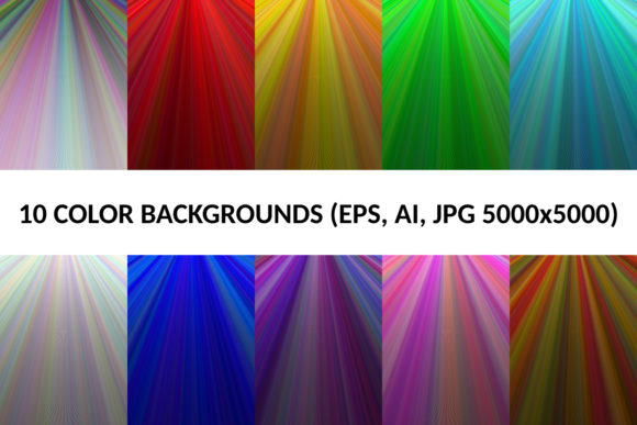 10 Color Backgrounds Graphic Backgrounds By davidzydd