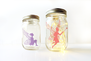 Download Free Fairy Silhouettes Graphic By Risarocksit Creative Fabrica for Cricut Explore, Silhouette and other cutting machines.