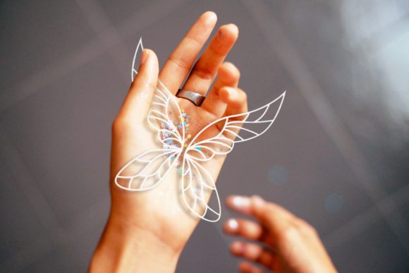 Fairy Wings Graphic Crafts By DesignedByGeeks