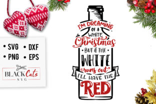 Download Free I M Dreaming Of A White Christmas Svg Graphic By Blackcatsmedia for Cricut Explore, Silhouette and other cutting machines.