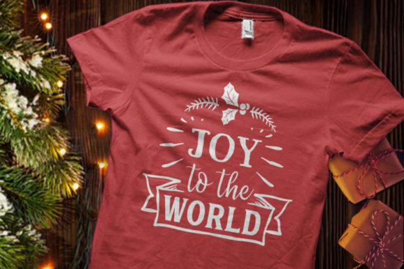 Download Free Joy To The World Svg Graphic By Blackcatsmedia Creative Fabrica for Cricut Explore, Silhouette and other cutting machines.