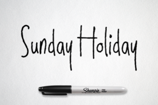 Download Free Sunday Holiday Font By Semuthitam Creative Fabrica for Cricut Explore, Silhouette and other cutting machines.