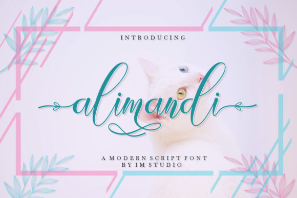 Print on Demand: Alimandi Script & Handwritten Font By IM Studio
