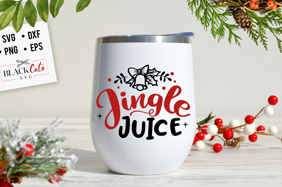 Download Free Jingle Juice Graphic By Blackcatsmedia Creative Fabrica for Cricut Explore, Silhouette and other cutting machines.