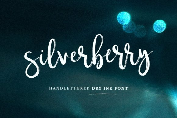 Print on Demand: Silverberry Script & Handwritten Font By wornoutmedia - Image 1