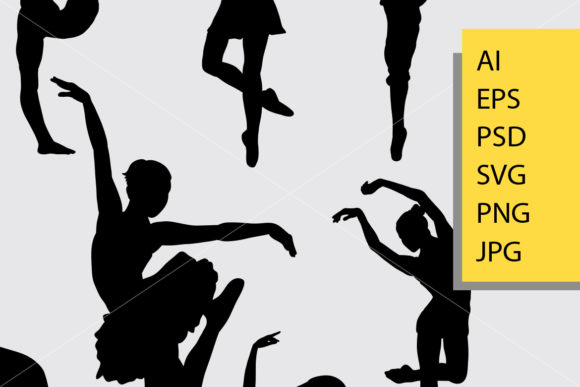 Download Free Dancing 1 Man And Woman Silhouette Graphic By Cove703 Creative for Cricut Explore, Silhouette and other cutting machines.