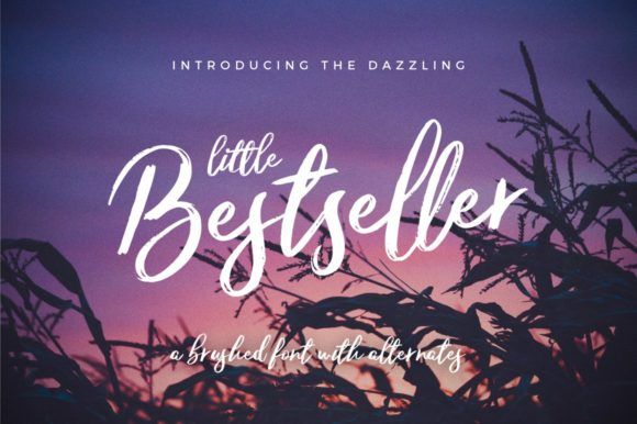 Print on Demand: Little Bestseller Script & Handwritten Font By wornoutmedia