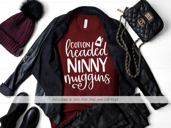Download Free Cotton Headed Ninny Muggins Graphic By Beckmccormick Creative for Cricut Explore, Silhouette and other cutting machines.