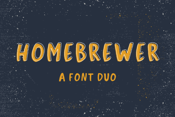 Print on Demand: Homebrewer Sans Script & Handwritten Font By BeckMcCormick - Image 1
