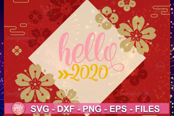 Print on Demand: New Year SVG Bundle Graphic Print Templates By DesignSmile - Image 2