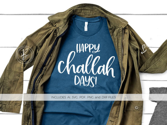 Print on Demand: Happy Challah Days Graphic Crafts By BeckMcCormick - Image 1