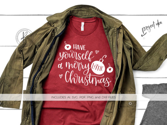 Download Free Have Yourself A Merry Little Christmas Graphic By Beckmccormick for Cricut Explore, Silhouette and other cutting machines.