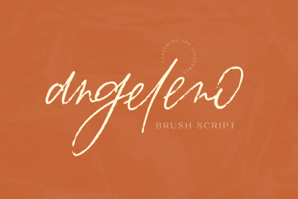 Angeleno Brush Font By BeckMcCormick Image 1