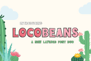 Locobeans Display Font By Maroon Baboon