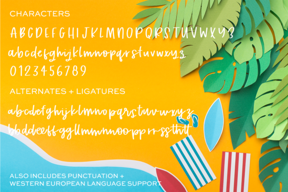 Print on Demand: Tropical Trail Script & Handwritten Font By BeckMcCormick - Image 10