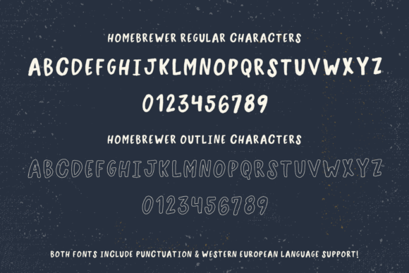 Print on Demand: Homebrewer Sans Script & Handwritten Font By BeckMcCormick - Image 10