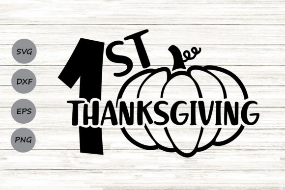 Print on Demand: First Thanksgiving Graphic Crafts By CosmosFineArt