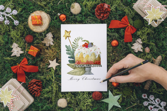 Print on Demand: Sweet Christmas Watercolor Set Graphic Illustrations By By Anna Sokol - Image 15