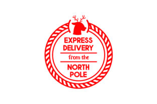 Express Delivery from the North Pole Craft Design By Creative Fabrica Crafts