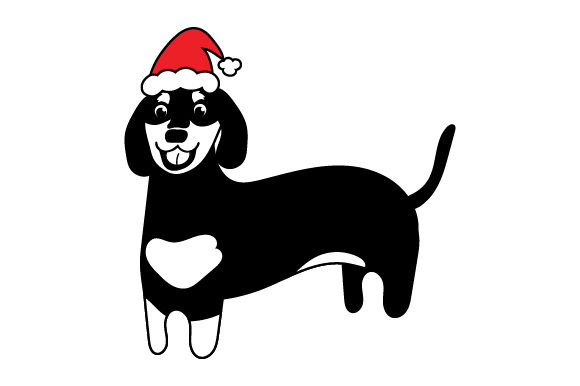Christmas Dachshund Craft Design By Creative Fabrica Crafts