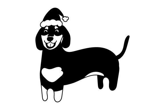 Download Free Christmas Dachshund Svg Cut File By Creative Fabrica Crafts Creative Fabrica for Cricut Explore, Silhouette and other cutting machines.