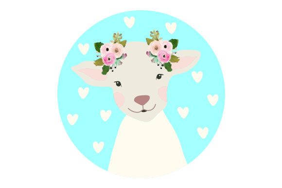 Cute Sheep Craft Design By Creative Fabrica Crafts