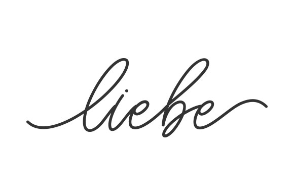 Download Free Liebe Svg Cut File By Creative Fabrica Crafts Creative Fabrica for Cricut Explore, Silhouette and other cutting machines.