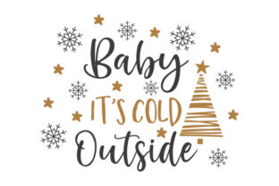 Baby It's Cold Outside Craft Design By Creative Fabrica Crafts