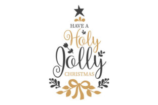 Have a Holly Jolly Christmas Craft Design By Creative Fabrica Crafts