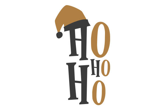 Ho Ho Ho Christmas Craft Cut File By Creative Fabrica Crafts - Image 1
