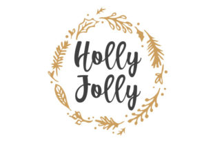 Holly Jolly Craft Design By Creative Fabrica Crafts