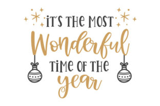 It's the Most Wonderful Time of the Year Craft Design By Creative Fabrica Crafts