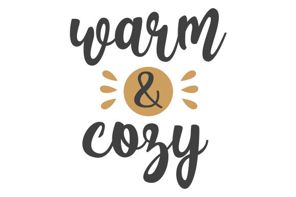 Warm & Cozy Craft Design von Creative Fabrica Crafts
