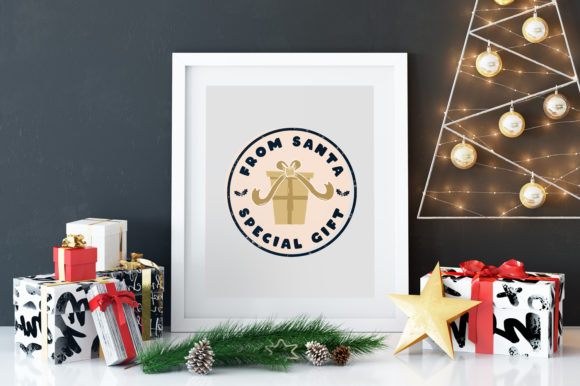 Download Free Merry Christmas And Santa T Shirt Graphic By Jeksongraphics for Cricut Explore, Silhouette and other cutting machines.