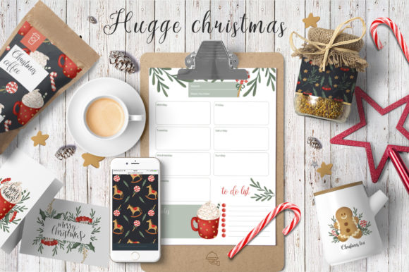 Print on Demand: Hugge Christmas Illustrations Graphic Illustrations By By Anna Sokol - Image 2
