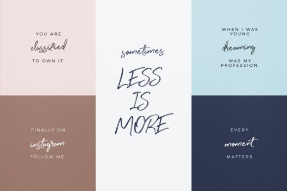 Print on Demand: Perfect Sunset Script & Handwritten Font By wornoutmedia - Image 9