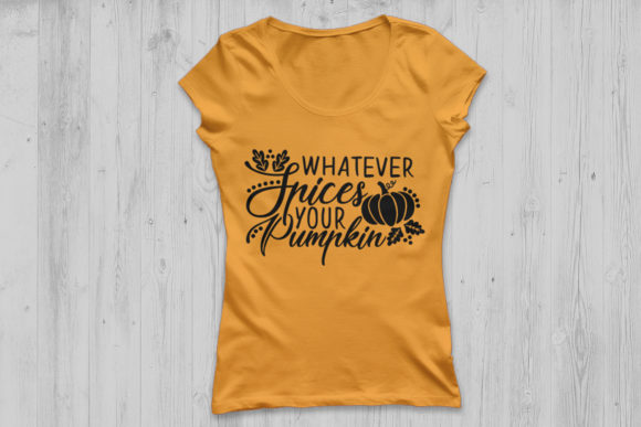 Download Free Whatever Spices Your Pumpkin Graphic By Cosmosfineart Creative for Cricut Explore, Silhouette and other cutting machines.