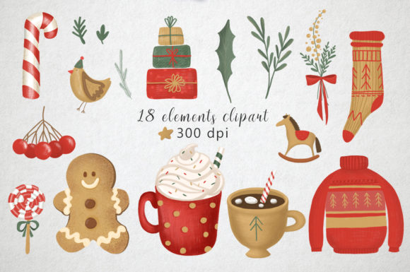 Print on Demand: Hugge Christmas Illustrations Graphic Illustrations By By Anna Sokol - Image 3