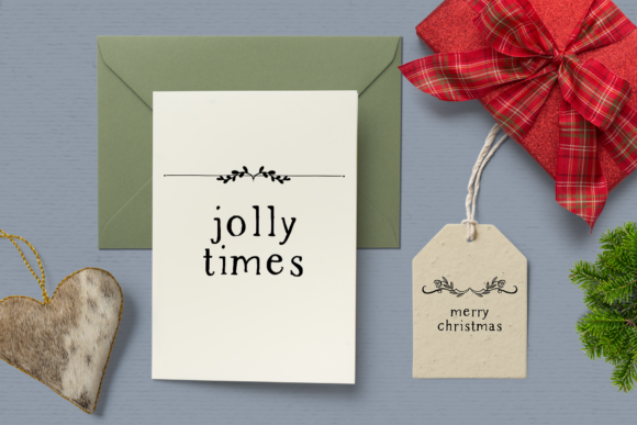 Print on Demand: Holiday Memories Christmas Dividers Graphic Illustrations By Wallifyer - Image 3