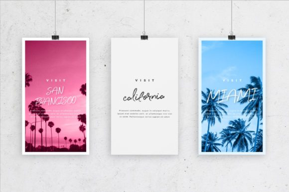 Print on Demand: Perfect Sunset Script & Handwritten Font By wornoutmedia - Image 8