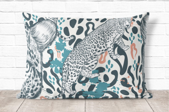 Animal Vector Print with Leopard Skin Graphic Patterns By fleurartmariia - Image 3