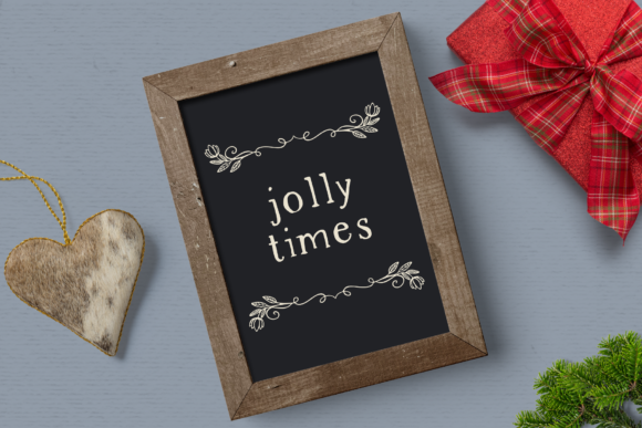 Print on Demand: Holiday Memories Christmas Dividers Graphic Illustrations By Wallifyer - Image 4