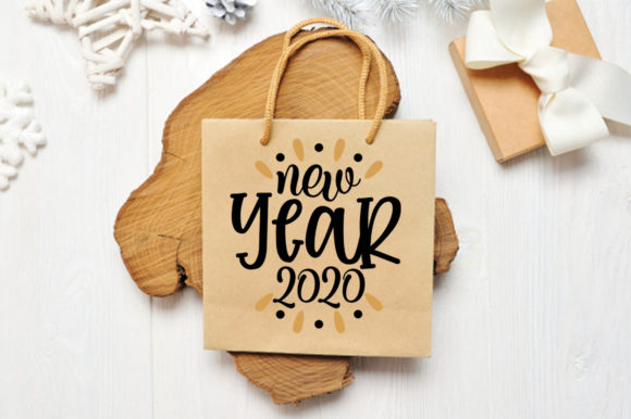 Print on Demand: New Year SVG Bundle Graphic Print Templates By DesignSmile - Image 5