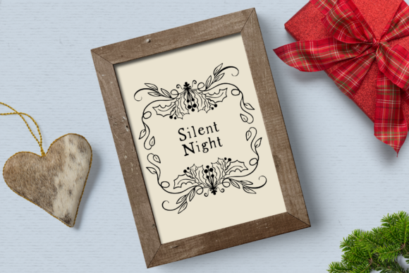 Print on Demand: Holiday Spirit Digital Stamps Graphic Illustrations By Wallifyer - Image 5