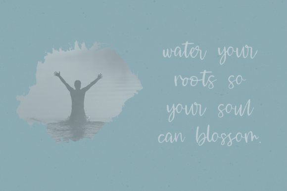 Print on Demand: Waterssong Script & Handwritten Font By BeckMcCormick - Image 5