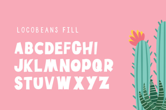 Print on Demand: Locobeans Display Font By Maroon Baboon - Image 4