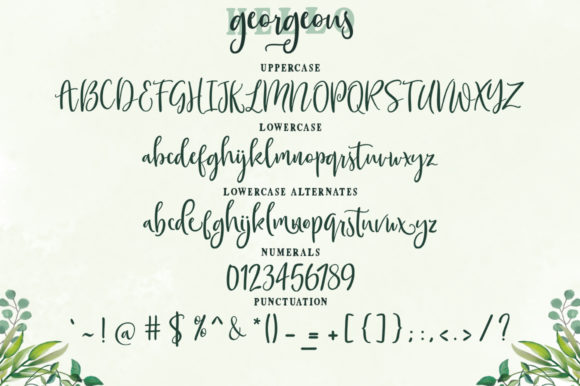 Print on Demand: Gorgeous Duo Script & Handwritten Font By Zane Studio - Image 6