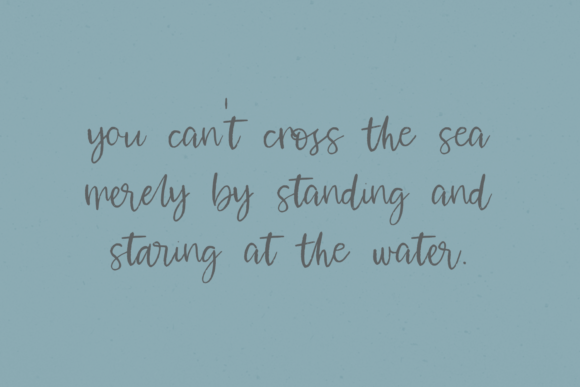 Print on Demand: Waterssong Script & Handwritten Font By BeckMcCormick - Image 7